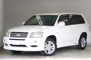 クルーガーハイブリッド Gパッケージ ハイブリッド 4WD 全国1年保証付き 純正エアロ 純正エアロ